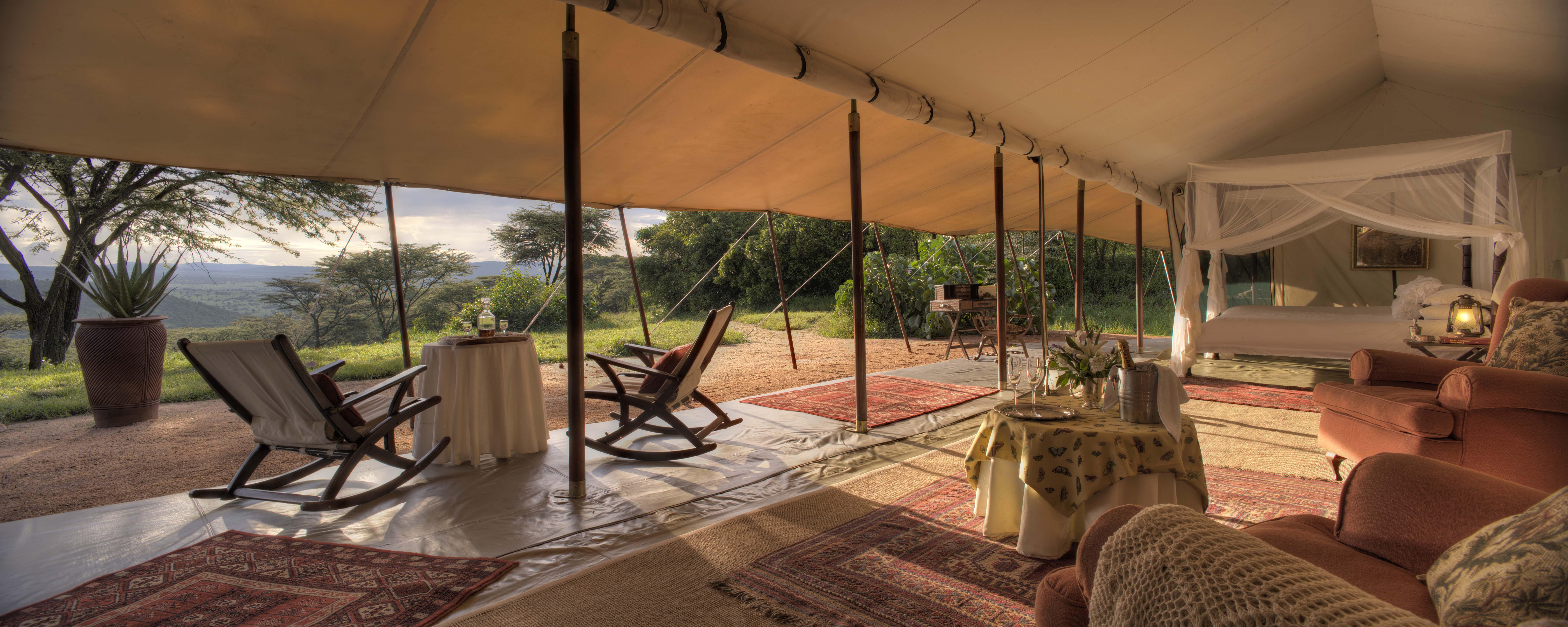 Cottar's - Honeymoon Tent