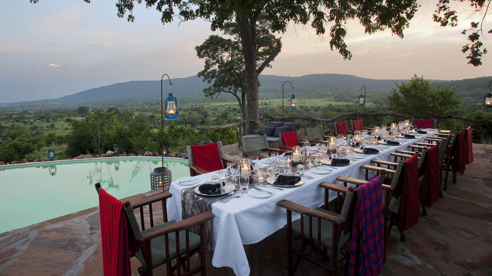 Safari Dining in Tanzania