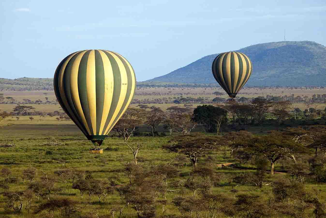 Hot Air Balloon Safari Serengeti