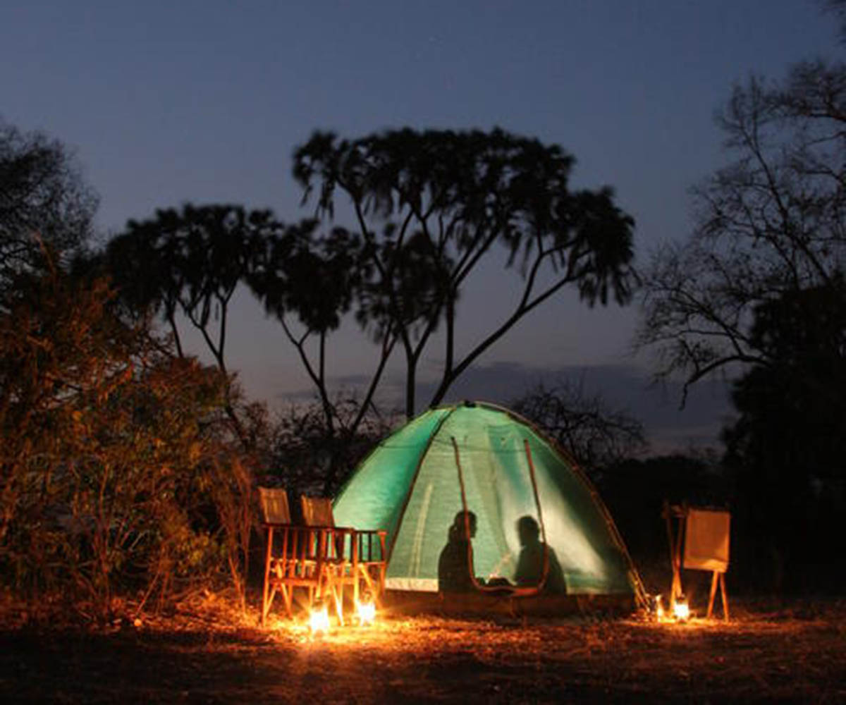 Fly camping safari in Ruaha