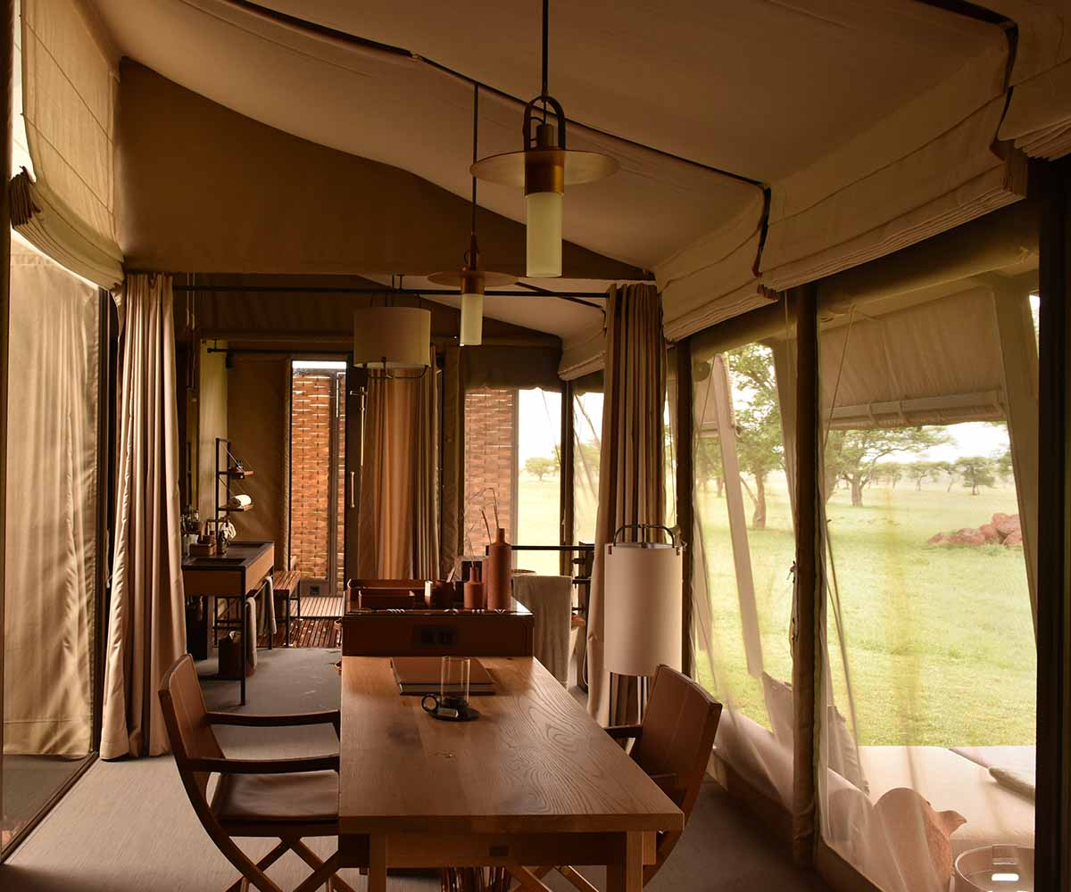 SaboraTented Camp Room