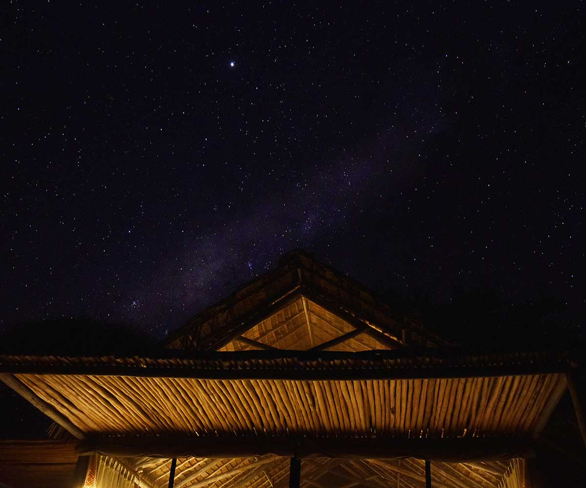 Night sky Tarangire